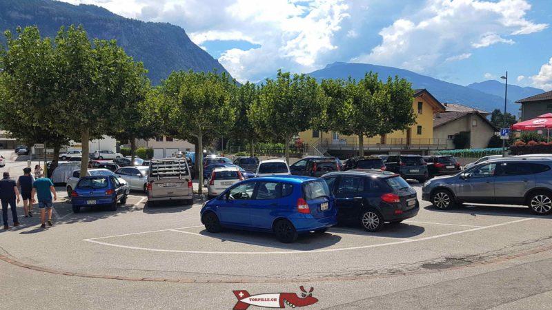 parking du lac souterain de Saint-Léonard