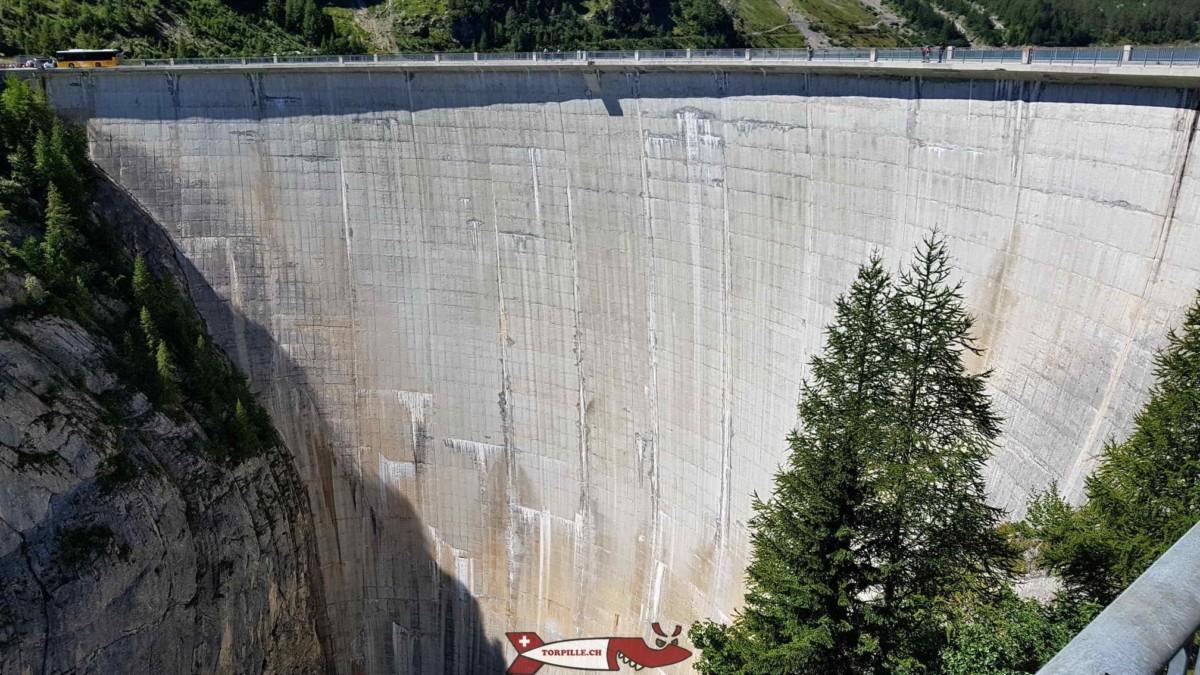 Le barrage de Tseuzier
