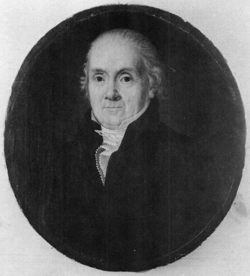 Isaac de Rivaz in 1827. Combioula Hot Spring