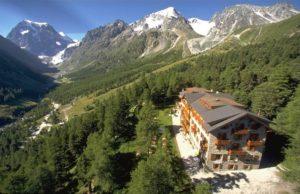 l'hotel Kurhaus à Arolla - Week-end inoubliable en Suisse Romande