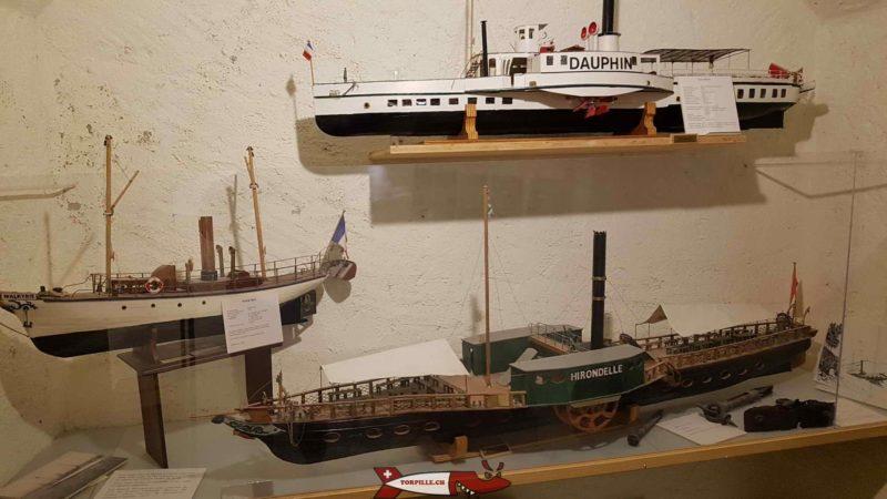 les vapeurs du Léman au musée des traditions et des barques du léman