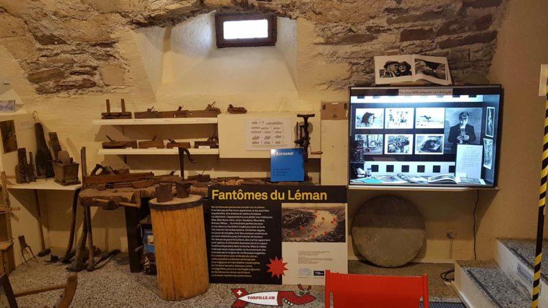 l'artisanat au musée des traditions et des barques du léman