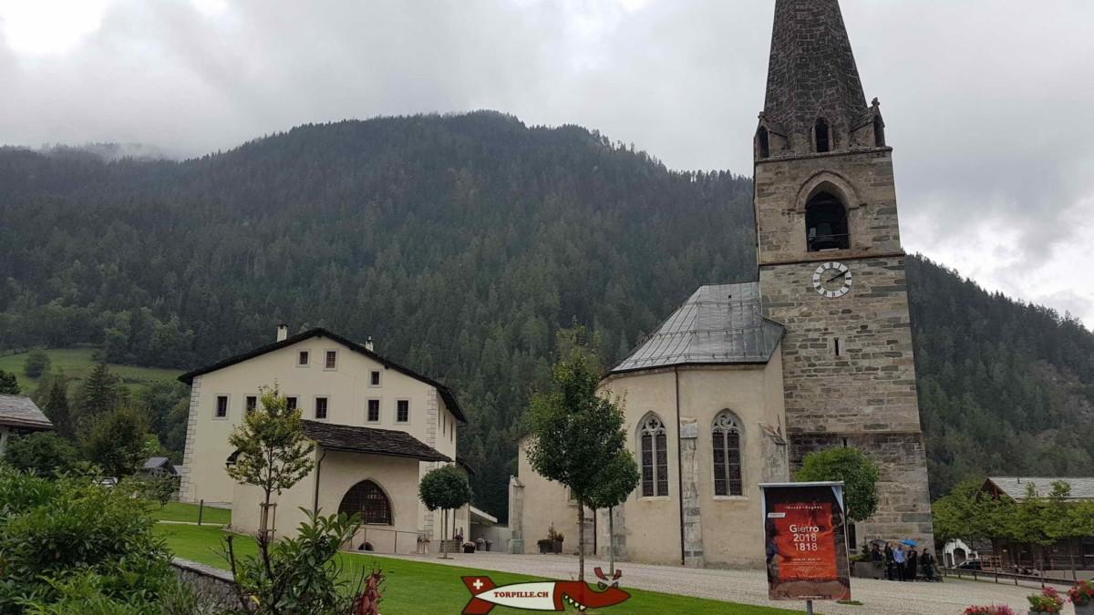 Le musée de Bagnes, un musée dédié à l'histoire locale.