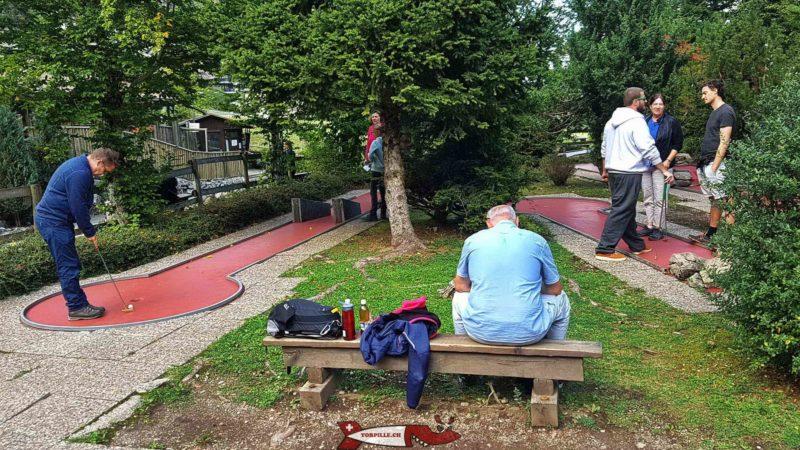 Minigolf du parc de loisirs de Moléson-Village
