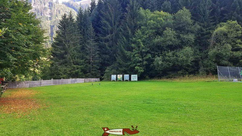 le tir à l'arc - luge d'été au moléson - parc de loisirs de Moléson