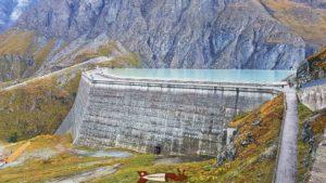 barrage de la Grande Dixence - barrage de Cleuson