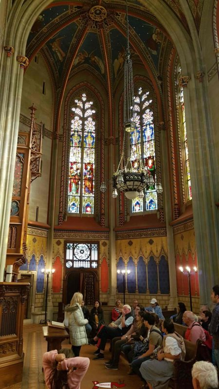 The Chapel of the Maccabees of Geneva Saint Peter's Cathedral