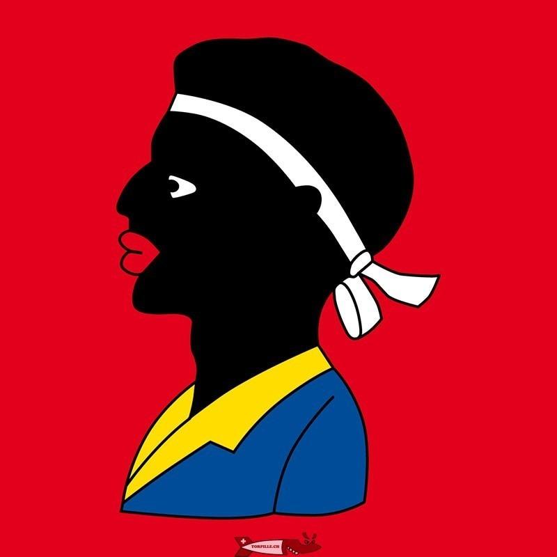 le drapeau d'Avenches venant peut-être de Saint-Maurice