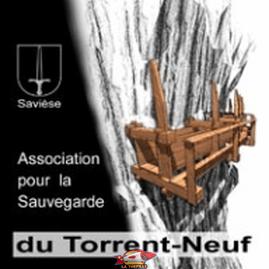 logo du bisse de saviese torrent neuf