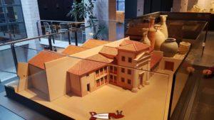 La maquette du domus au musée romain de Lausanne-Vidy