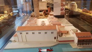 La maquette du forum de Lousonna au musée romain de Lausanne-Vidy