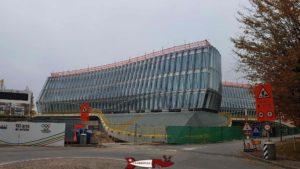 The brand new IOC headquarters near Lausanne-Vidy Roman Museum