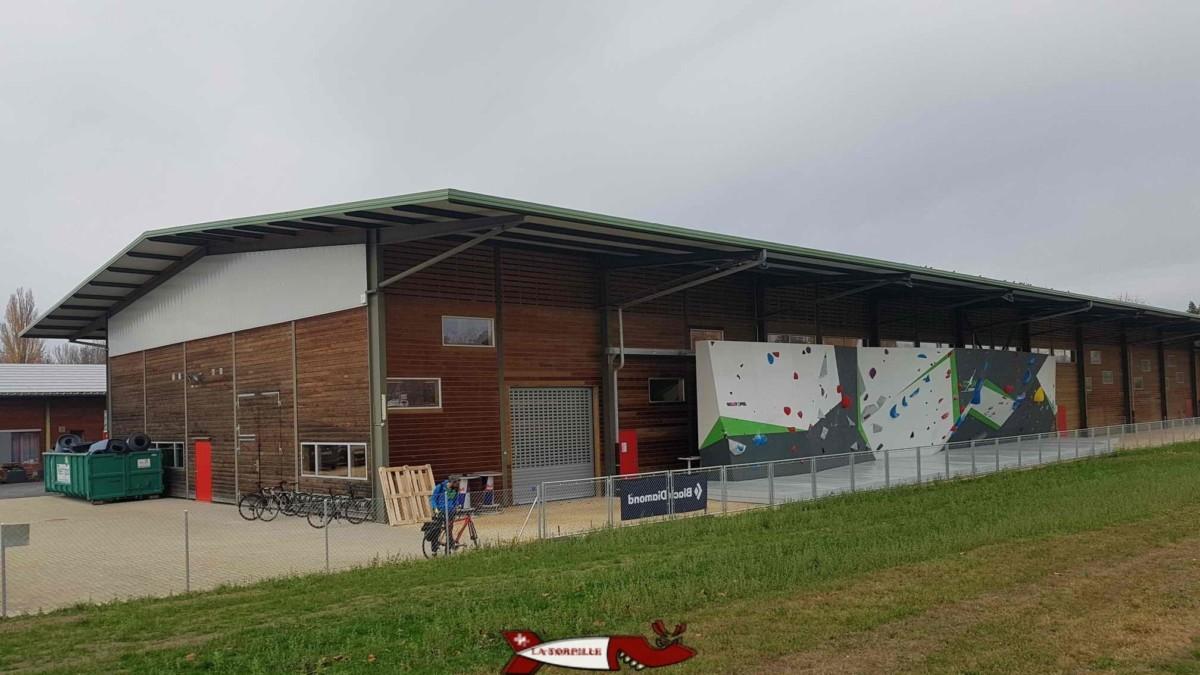 Le bâtiment de Totem Ecublens.