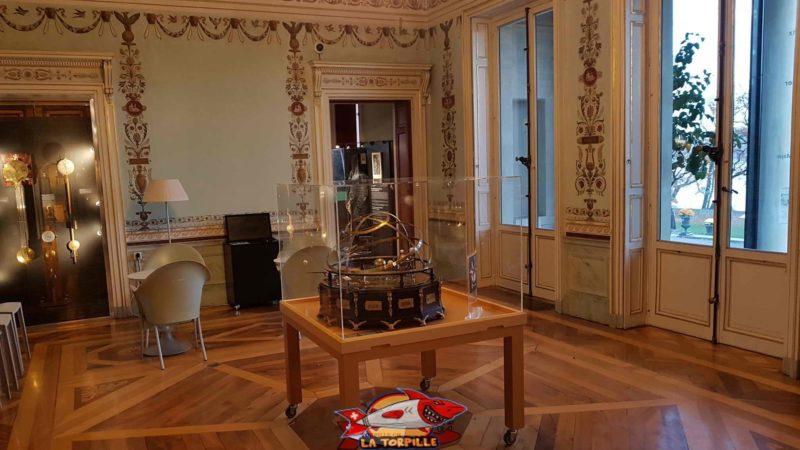 le grand salon du musée d'histoire des sciences de geneve