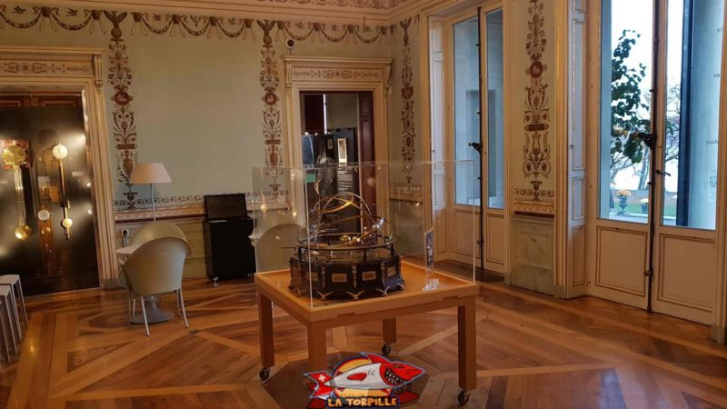 grand salon room at the History of Science Museum Geneva