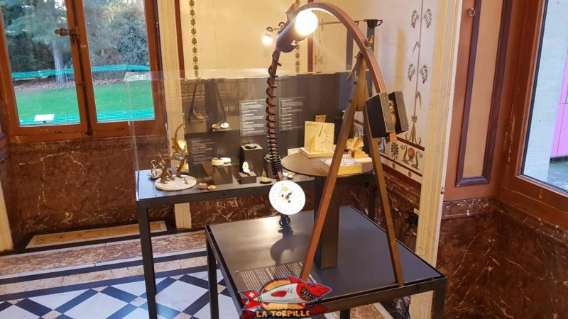sundials room at the History of Science Museum Geneva