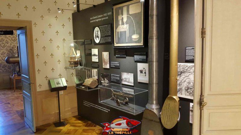 l'espace colladon au musée d'histoire des sciences à genève