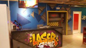 The Laser Game at jayland gland leisure center