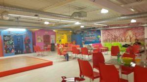 The mezzanine offers space to organize birthdays jayland gland leisure center