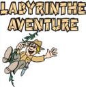 logo labyrinthe aventure evionnaz
