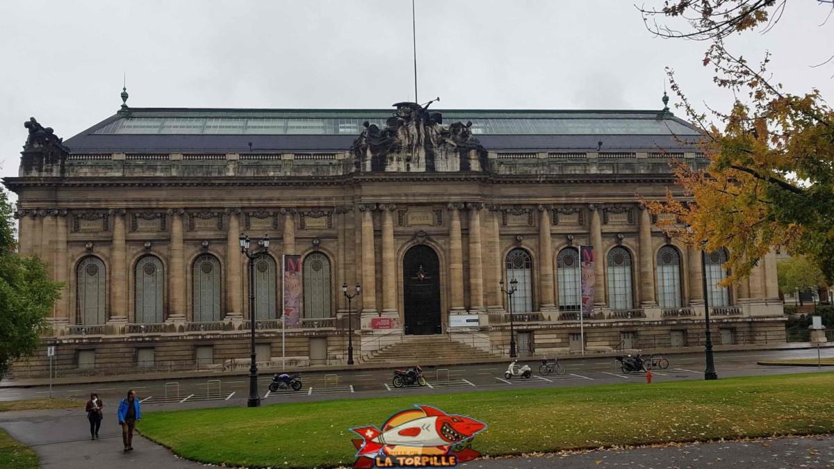 Le musée d'art et d'histoire de Genève.