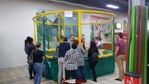 Three trampolines with different age limits in jayland villars-sainte-crois near crissier