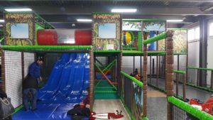 Structure de jeux pour les enfants de 5 à 8 ans à jayland villars-sainte-croix près de crissier