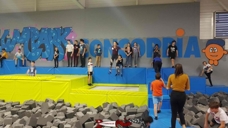 Freestyle zone at jumpark yverdon