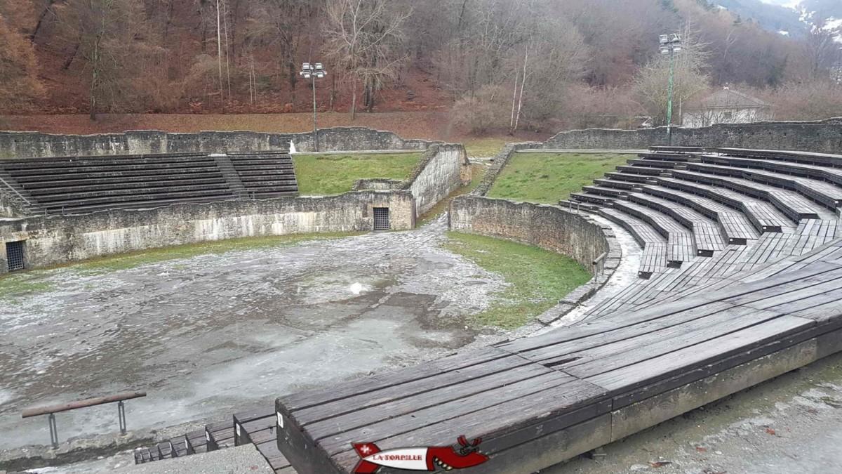 L'amphithéâtre de Martigny.