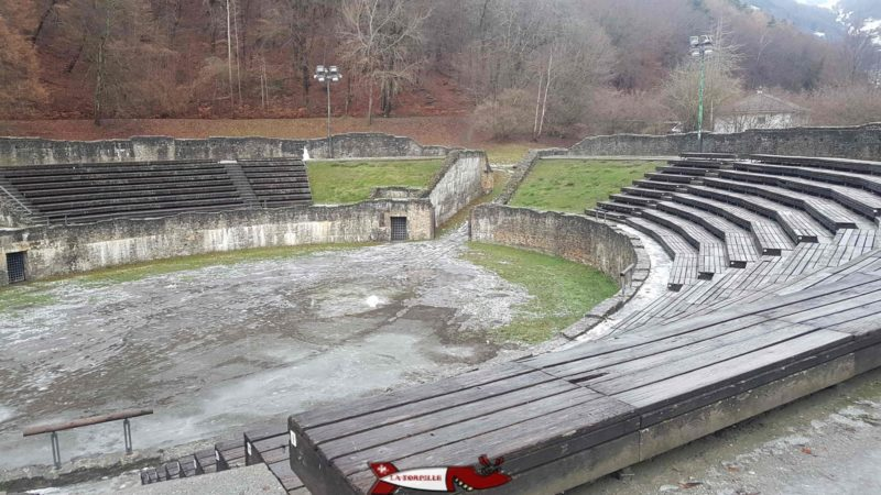 The Martigny amphitheatre.