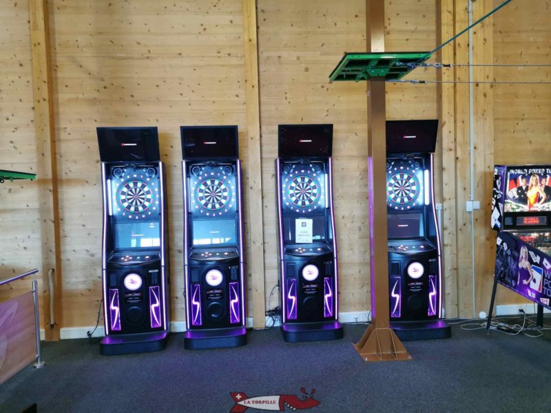 Four sets of darts available under the accrofun.