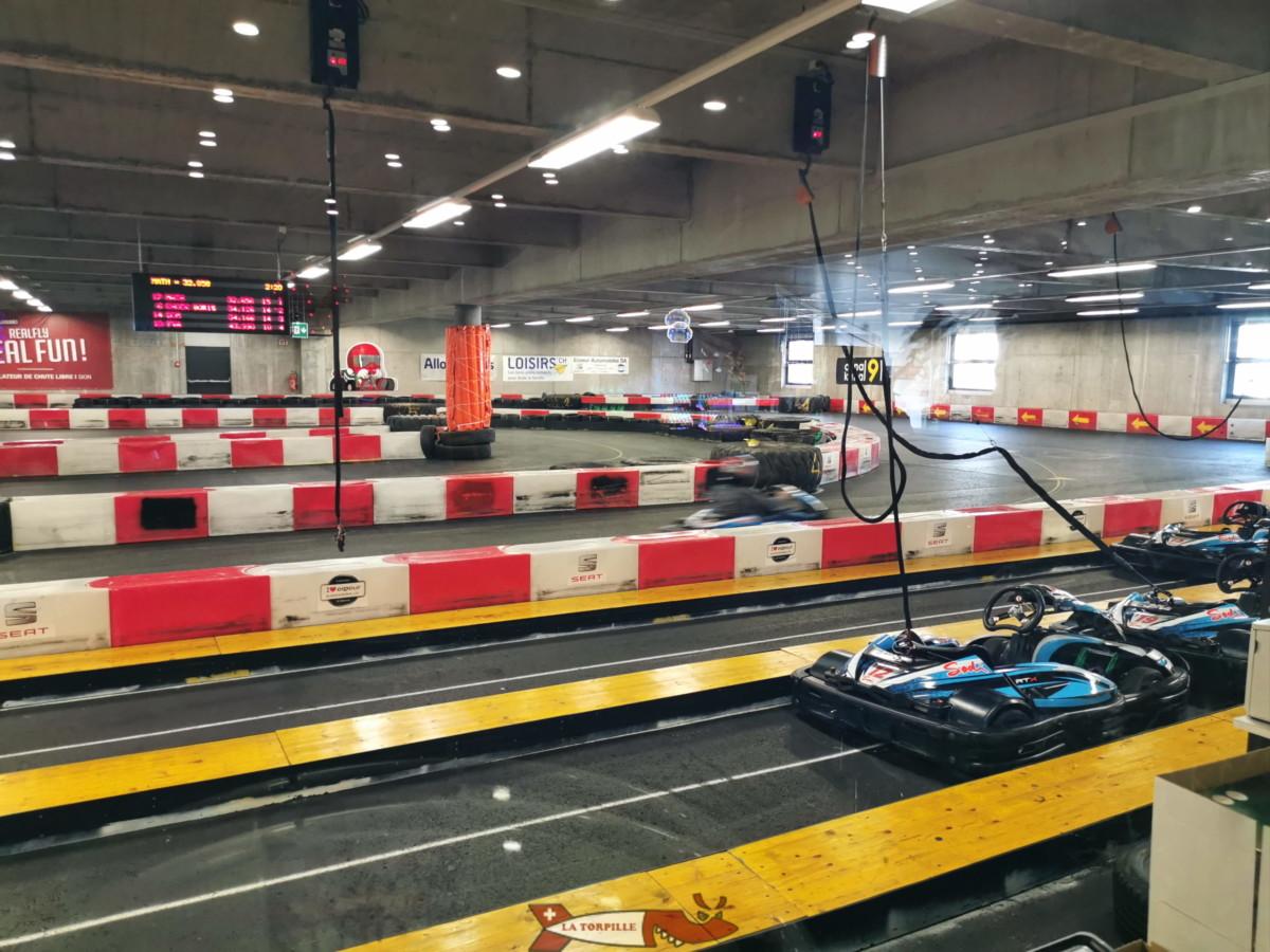 La piste intérieure de Rennaz/Villeneuve.
