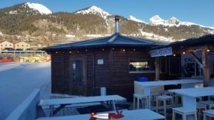 the yurt at the leysin tobogganing park