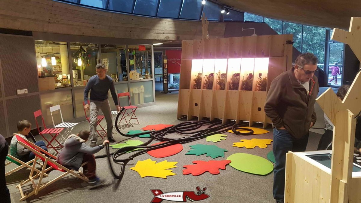 l'espace invention de Lausanne est le meilleur endroit de Suisse Romande pour familiariser les enfants avec les sciences.