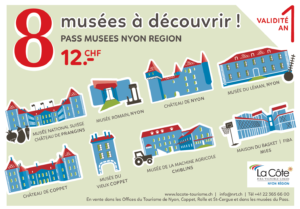 Pass Musées - Nyon région