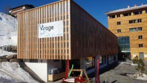 Le magasin Virage Sport à Vercorin