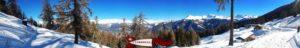 Vue panoramique depuis la Sigourelaz.