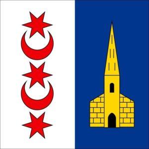 drapeau ville de montreux