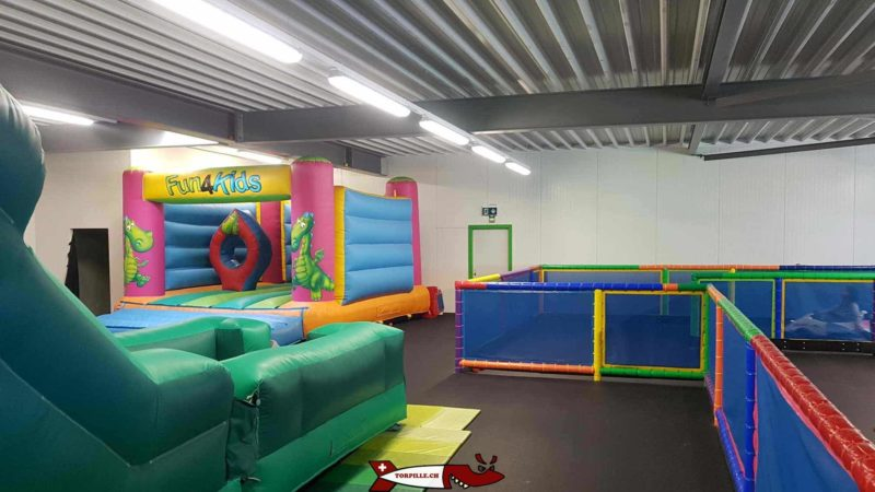 Bouncy castles and the Fun4Kids mini-karting.