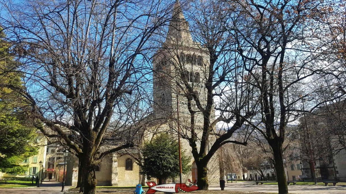 La cathédrale de Sion.