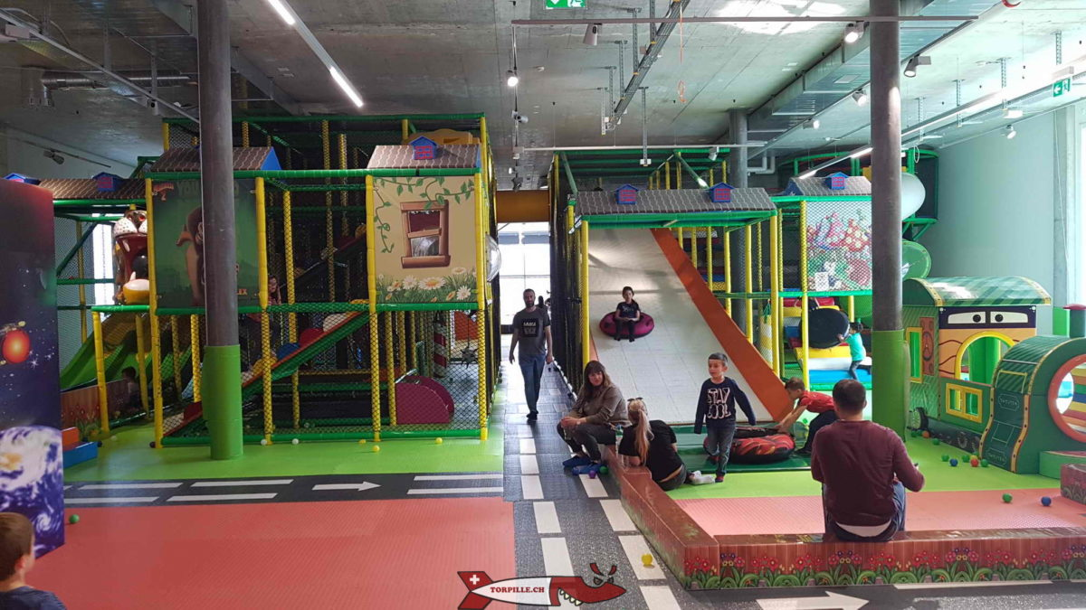 Kids Fun PArk dans la zone industrielle d'Etoy.