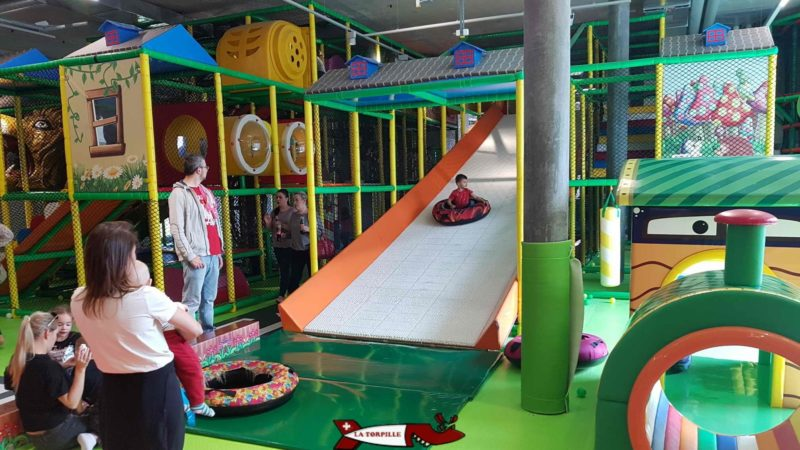 a buoy track at Kids Fun Park Etoy