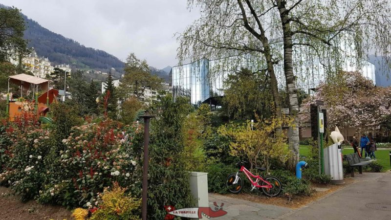 Vernex Park in Montreux