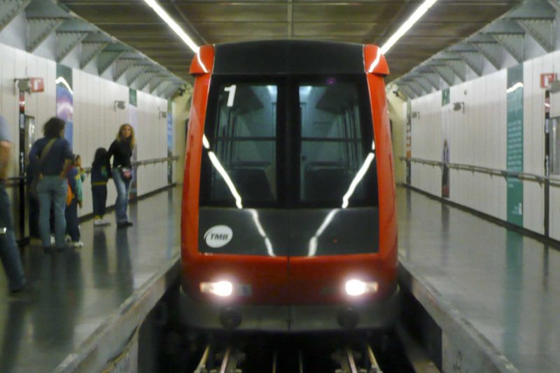 The Monjuïc funicular built for the 1992 Olympic Games has two 400-seater carriages.
