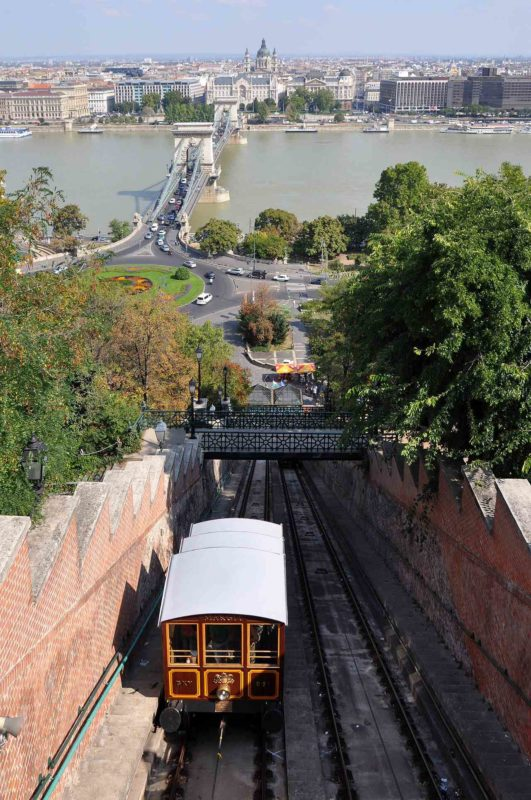 The Budapest funicular.
