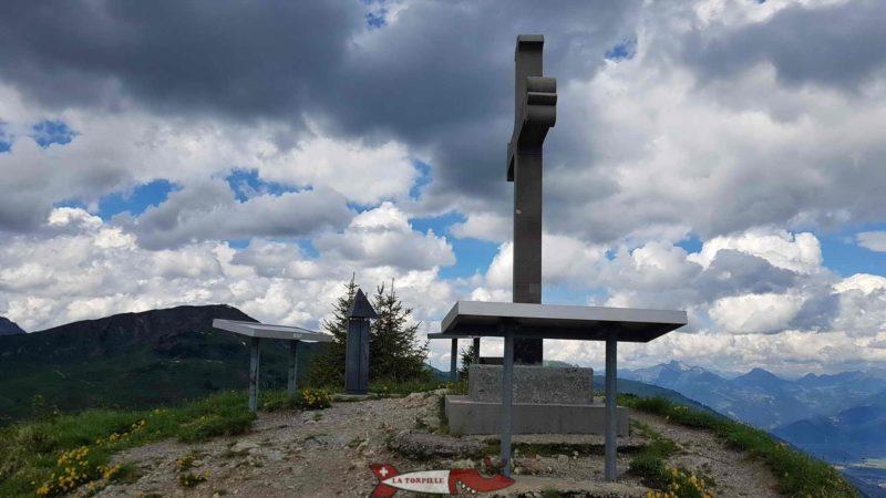 Le sommet de la Croix de Culet.