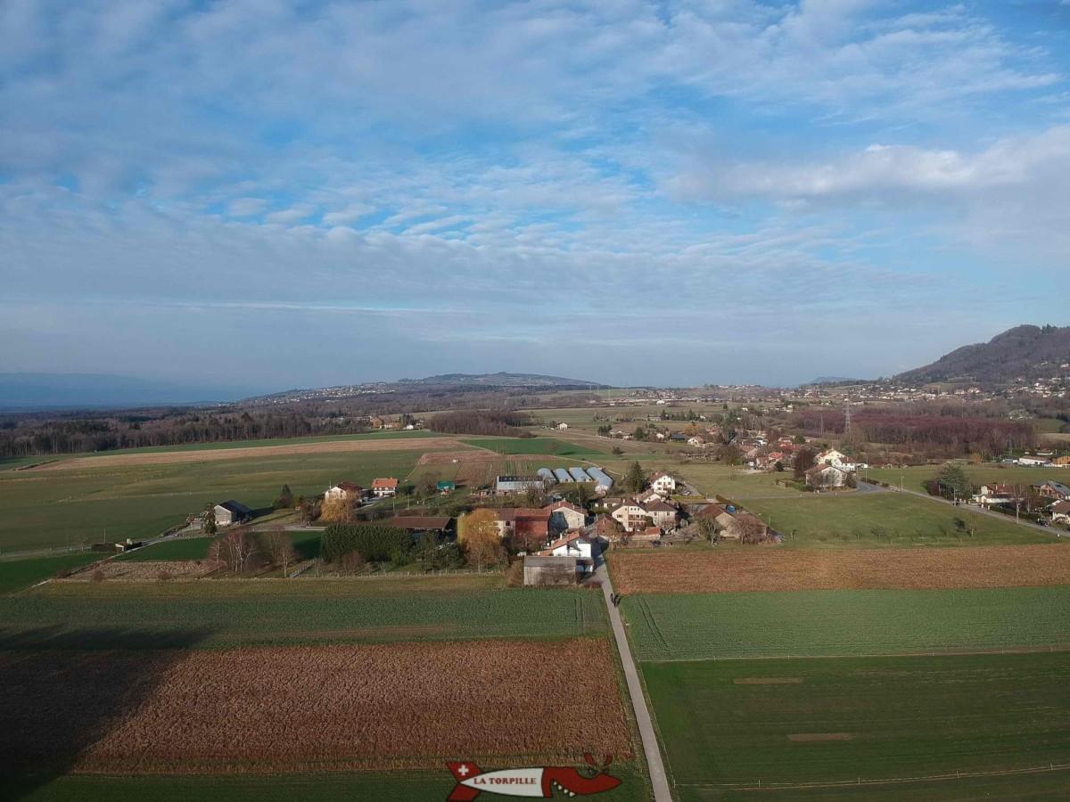 Le hameau de Monniaz.