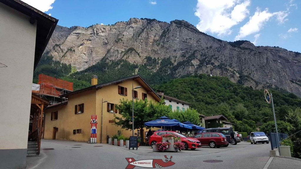 Le village de Grugnay.