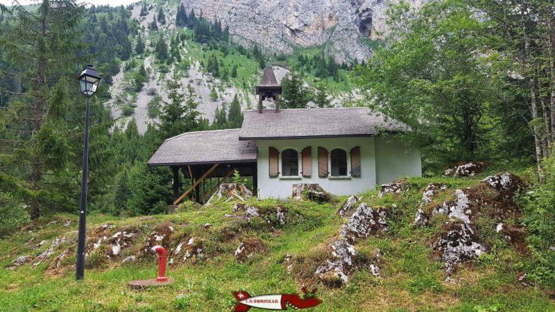 La chapelle de Taney.
