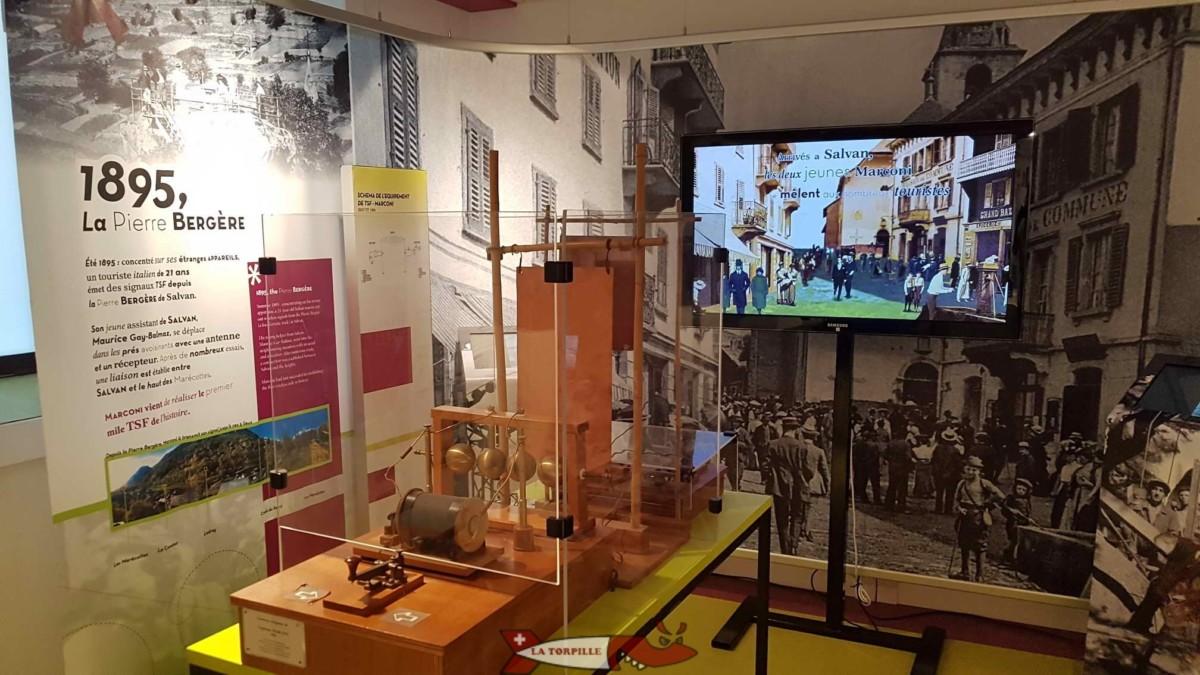 Musée de la radio Marconi - Salvan